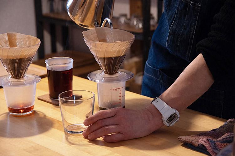 コーヒーを通じての活動