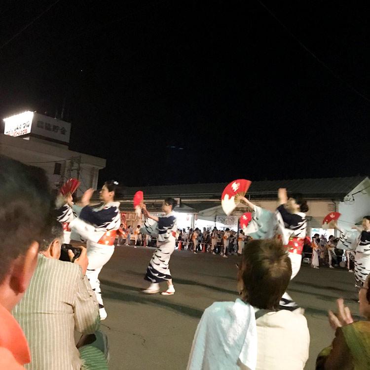 花輪ばやし、町踊り