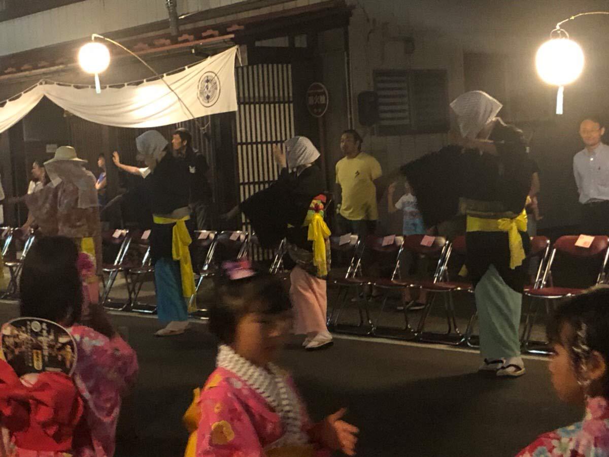 毛馬内盆踊り 参加者