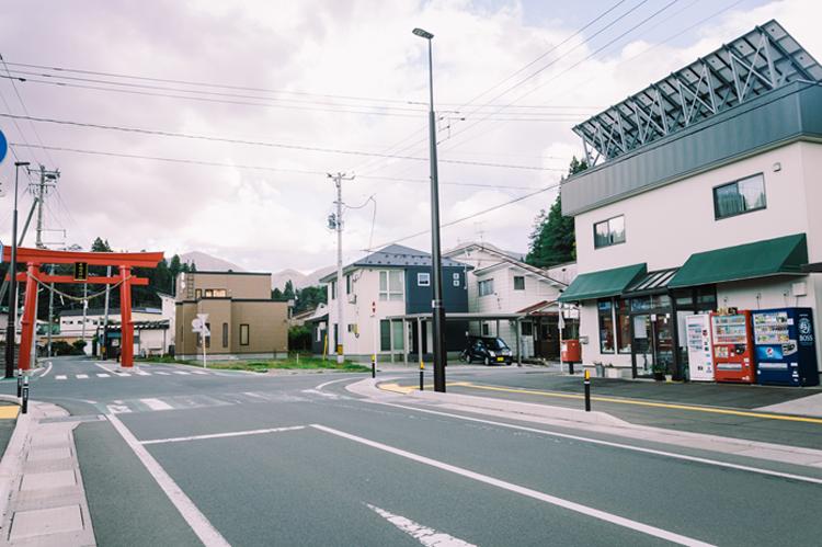 森内榮一郎商店 商店街