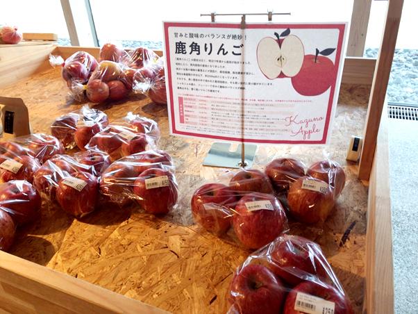 湯の駅 おおゆ 鹿角りんご