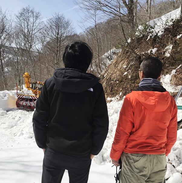 柳沢建設 除雪部隊「三代目 中滝武装雪戦」
