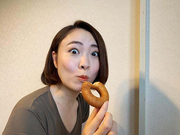 おからドーナツ 奈良亀