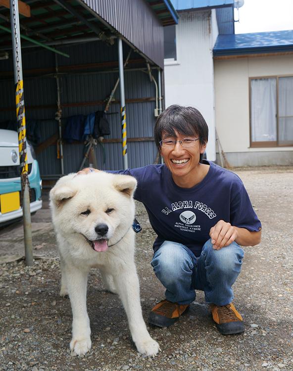 とある秋田犬のムック 飼い主の池田さん
