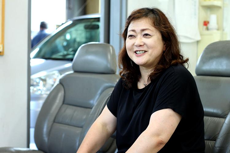 毛馬内自動車整備工場 佐藤久美子代表取締役