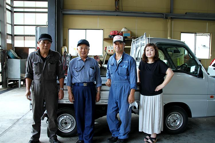 毛馬内自動車整備工場