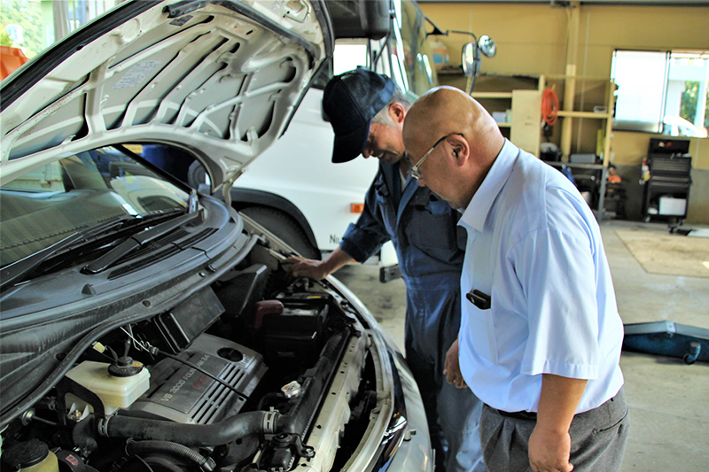 有限会社 毛馬内自動車整備工場求人情報『鹿角でも一目置かれる技術力を持つ自動車整備工場』