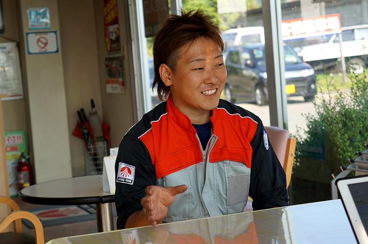 山崎自動車工業 奈良和樹さん
