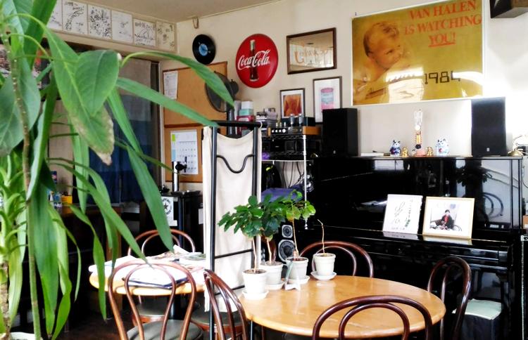 けいらん田中屋の喫茶店