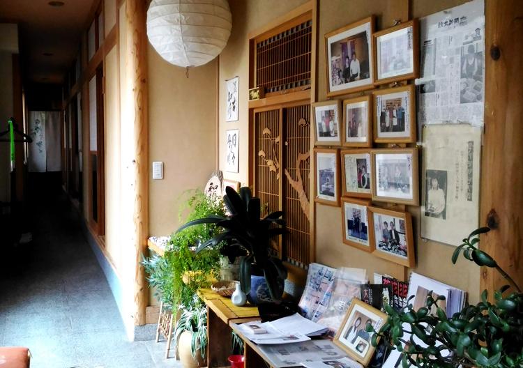 けいらん田中屋を訪れた有名人のサイン