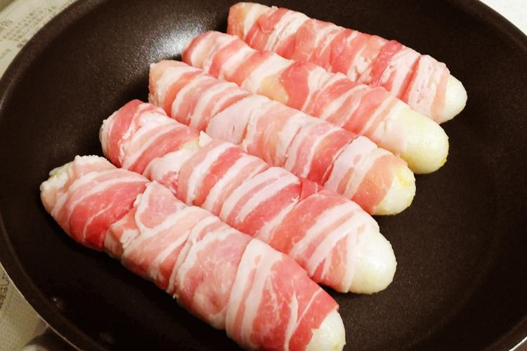 肉巻ききりたんぽの作り方