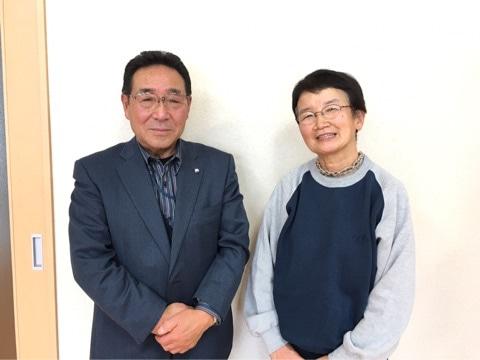 土舘さんと柳沢トシエさん