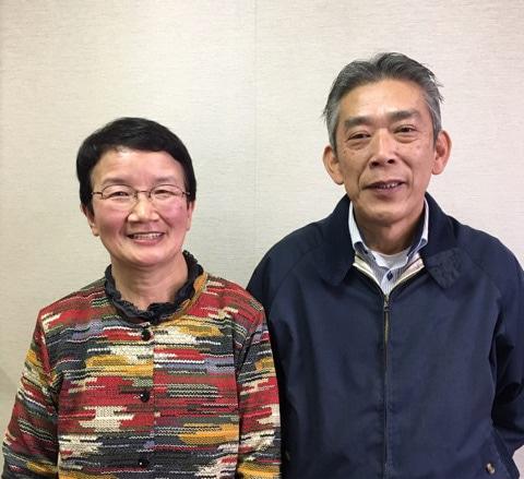 柳沢トシエさんと柳沢正志さん
