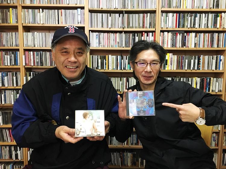 音響マスター安保大輔さんと谷藤彰男さん