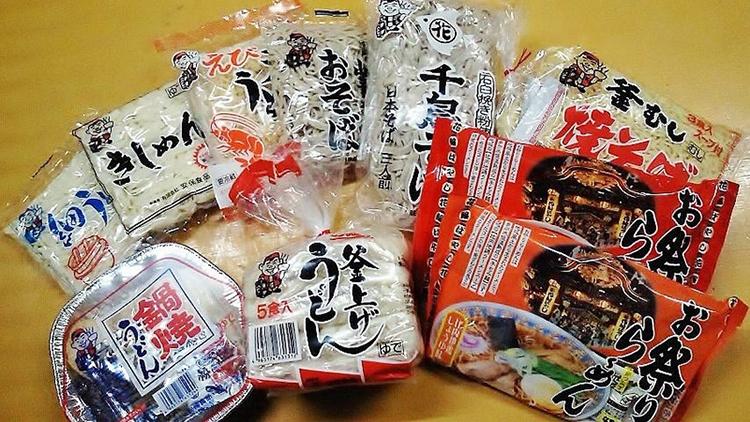 安保食品・安保ダイスケさん 製麺製造会社「安保食品」の商品