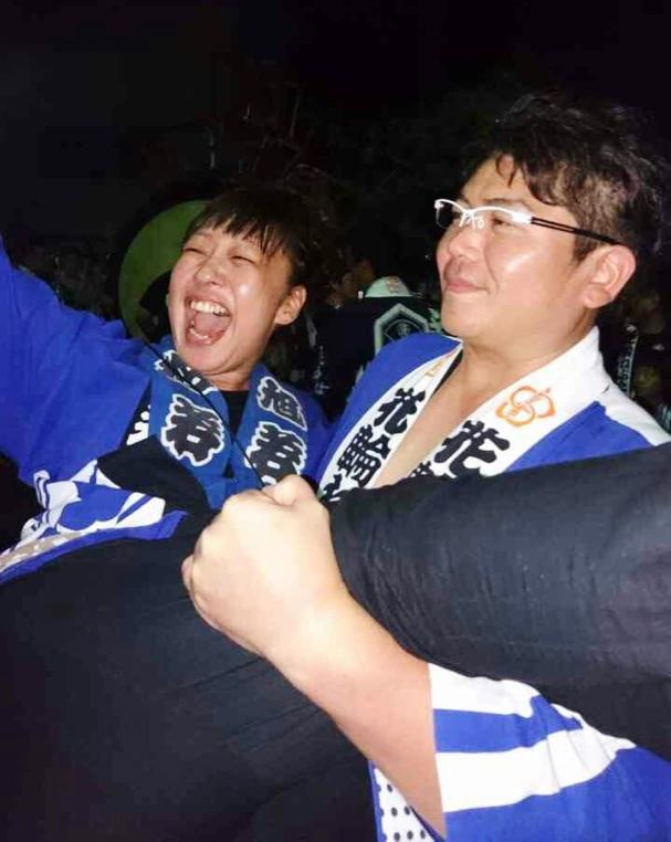 花輪ねぷた灯篭絵師 工藤美穂さん