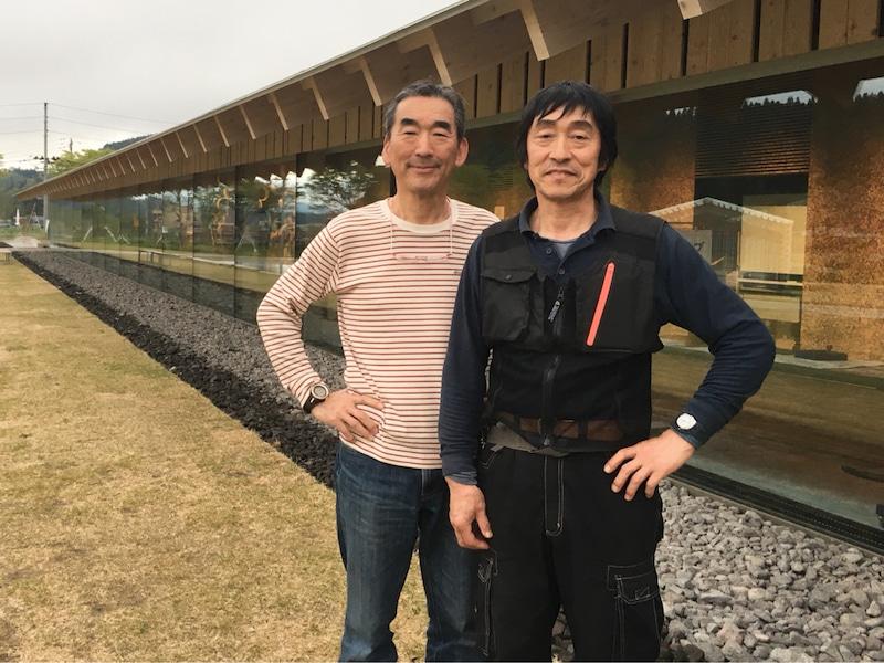 山仲芳雄さんと黒澤彰さん