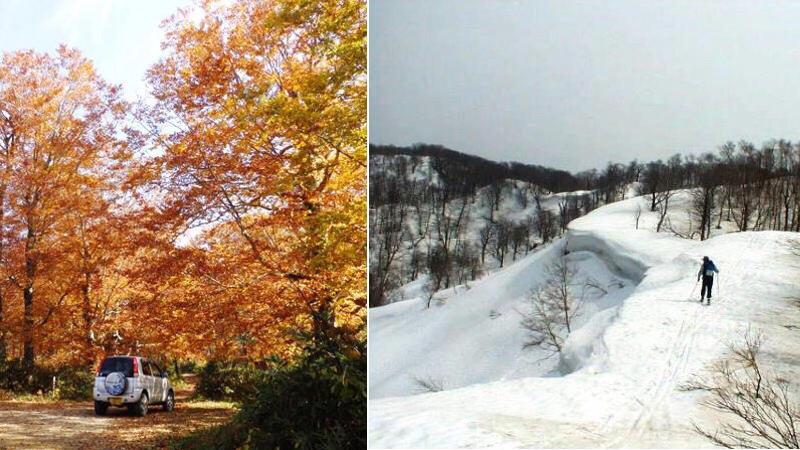 十和田湖外輪山